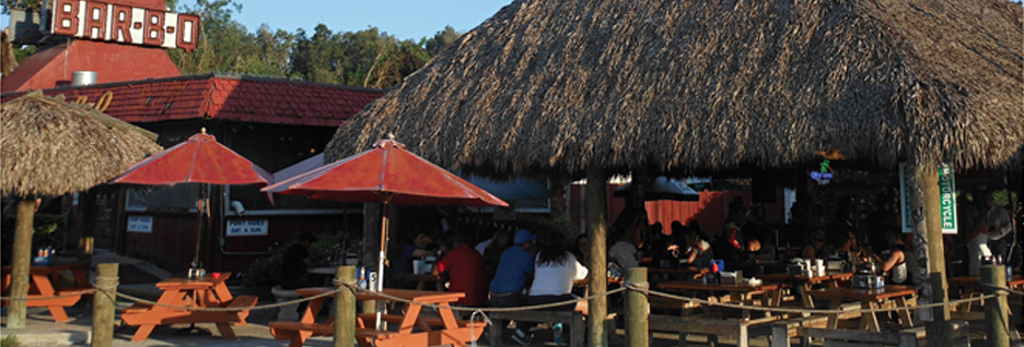 Come check out our new bigger Tiki Hut & Bar...